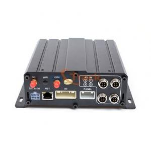 China 4CH / 8CH Cameras HDD Mobile DVR With 3G / 4G Network Support Multiple Language on sale