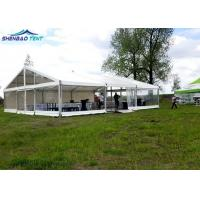 Double PVC Outdoor Exhibition Tents Aluminum 10*12m for Family Party