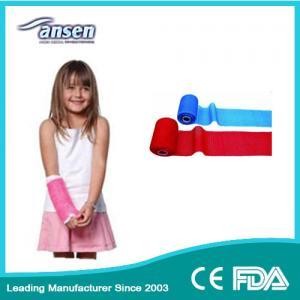 China Waterproof Arm and Leg Fracture Treatment Bandage Fiberglass Casting Tape Plaster Bandage on sale