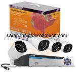 4CH PLC IP Cameras NVR Kit
