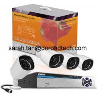 China 4CH PLC IP Cameras NVR Kit on sale