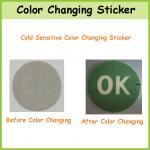 Etiqueta Thermo-sensível feita sob encomenda da mudança da cor