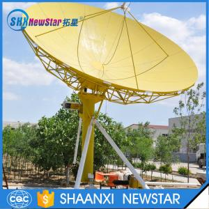 China 6.0m c band receiving only earth station satellite tv antenna on sale