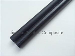 China carbon fiber tube, high thickness carbon fiber pole, good stiffness carbon fiber pipes on sale