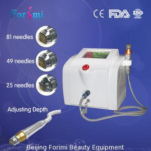 China dermal stamping with radio frequency CW and Pulse mode Needling Machine With 0.5-3MM Depth RF Microneedle on sale