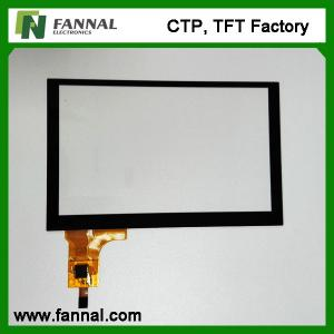 China 5 Inch Capacitive Touch Screen FPC connection Cypress controller touch panel on sale