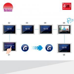China Morningtech New Smart Door Phone Doorbell Camera Waterproof Indoor Bell Intercom Video Doorbell on sale