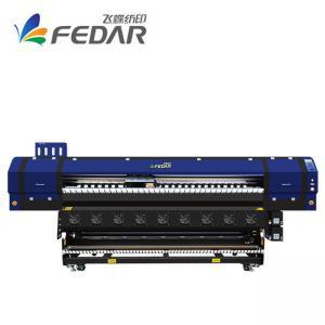 China 2.6m Poster Paper Sublimation Textile Printer 350sqm/H on sale