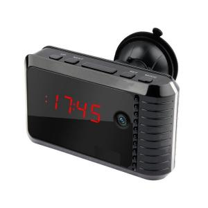 China 720P Super Night Vision Home Security Device Wifi Clock Hidden Camera YM-W002 on sale