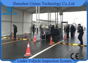 China ISO9001 Portable Under Vehicle Surveillance System RS232 / RS422 Communication interface on sale