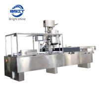High Speed Suppository/Ovule Filling and Sealing Production Line with PVC/PE film