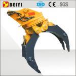 ISO9001 certificou a máquina escavadora que a madeira hidráulica luta com uma rotação de 360 graus