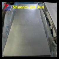 China nickel titanium shape alloy sheet titanium sheet on sale