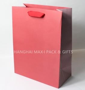 Quality Colored Goodie Branded Paper Bags Business Mini Medium Large Elegant FSC for sale