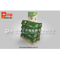Steady Eye Catching Paperboard Display Pallet Stands , Shipper Pallet For Dog Foods