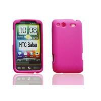 China Pink HTC Salsa Silicone Protective Cell Phone Cover Cases on sale