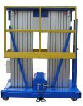 Lifting Heihght 12m Mobile Aluminum Aerial Work Platform with Extension Platform