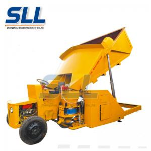 China Diesel Self Loading Dry Concrete Shotcrete Machine 15m3/H With 1 Year Warranty on sale