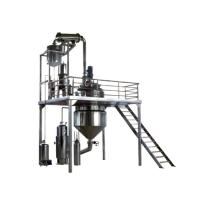 China 1500kg / Hour Herb Extraction Equipment Pharmaceutical CBD Oil Molecular Still on sale