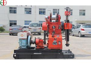 China Red Color Pump Machine Core Drill Rig Integrated Engineering Survey on sale