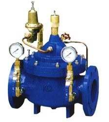 China Auto Stainless Steel Pressure Reducing Valves 3/4 - 32 Double Flanged on sale