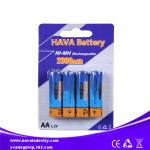China NiMH Rechargeable Battery AA2300mAh 1.2V wholesale