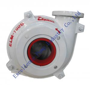 China ELM-100D high chrome alloy lined mining slurry pumps design for building material on sale