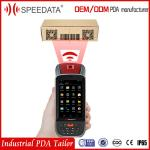 4.5 Inch Screen Industrial PDA Handheld Data Collection Devices With 2D Barcode Scanner