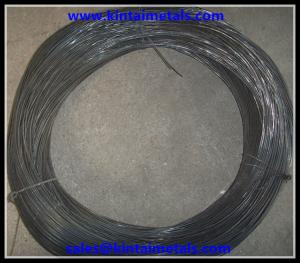 China 3.0mm low carbon steel black annealed wire for binding in construction on sale