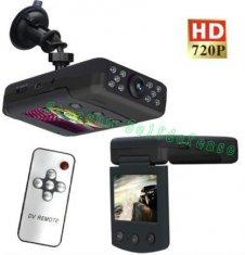 Quality Red 720P HD 140-Degree Infrared Night Vision car dvr camera P7000 for sale