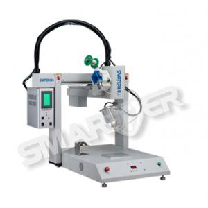 China 300W Adjustable Automatic SMARTER Soldering Robot With Five Axis Manipulator on sale