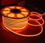 orange 12v mini led neon flex light 7x15mm replacement neon tubes 2835 smd flexible strip rope ip68 injection