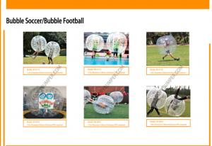 China High Performance Inflatable Bubble Soccer Football Bubble Football Equipment on sale