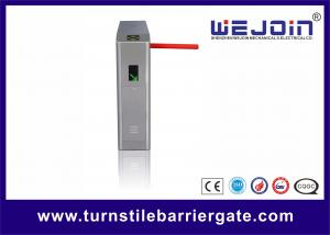 China Control Time Attendance Tripod Turnstile Gate Full Automatic 490mm Arm Length on sale