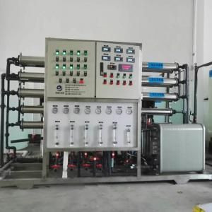 China EDI + RO Pure Water Purification Machine For Battery Battery Liquid on sale