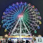 Large Scale Fairground Ferris Wheel / Theme Park Ferris Wheel Height 42m