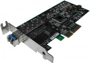 China SFP LC Fiber Nic Card For HP IBM DELL Server , 1000M Intel 82571EB Chipset on sale