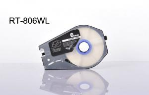 China compatible Label Tape Cartridge Sunlight Resistant Insulating outdoors on sale