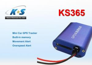 China Simple Realtime LBS / GSM / RFID / CDMA Vehicle GPS Tracker With Movement Alert on sale