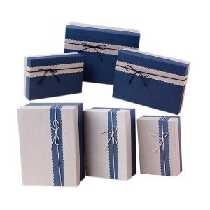 Quality Paper Book Shaped Gift Box Medium Square Gift Boxes With Lids for sale