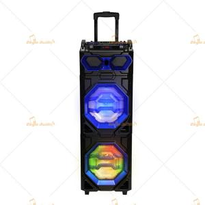 China Led Disco Light Tweeter Rechargeable Dj Bluetooth Speaker For Karaoke / Dancing on sale