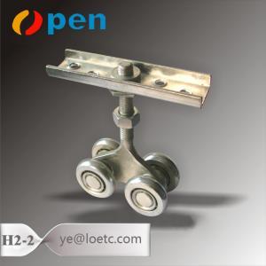 China adjustable hanging sliding door wheels on sale