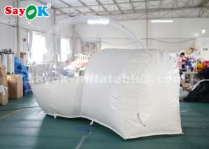 China 3m PVC Outdoor Inflatable Bubble Tent For Family Camping Backyard CE SGS ROHS on sale