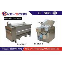 Small Scale Food Frying Machine For Fried Snacks Chips Production Line No Oil Smoke