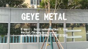 Quality 透明な吸収性の音/騒音の障壁の壁(金属及びPCのポリカーボネートの混合物) for sale