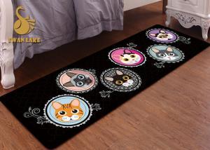 China Simple Style Bedroom Area Rugs Animal Print Area Rugs Waterproof on sale