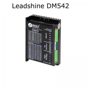 China Leadshine stepper motor driver DM542 work with nema 23 and nema17 stepper motor 24 - 50V output 1-4.2A current on sale
