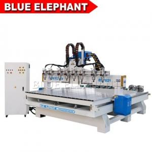 China ELECNC-1821 Multi Spindles 4 Axis Woodworking Machinery with Rotary Devices on sale