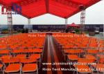 Arched Roof Lightweight DJ Light Truss , Trade Show Stage Lighting Scaffolding