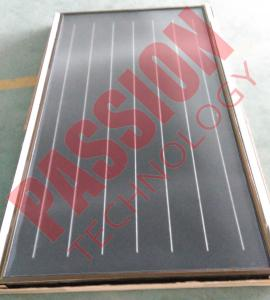 China Freeze Resistant Flat Plate Solar Collector For Portable Solar Water Heater on sale